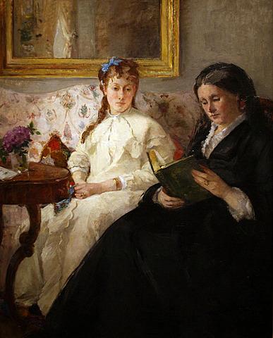 'La lectura' de Morisot