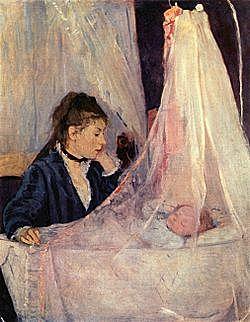 'La cuna' de Morisot