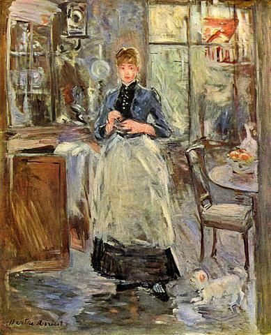 'En el comedor' de Morisot