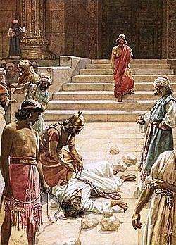 The Stoning of Zechariah
