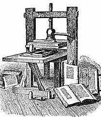 Invenció de la impremta - Johannes Gutenberg