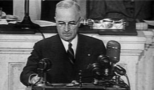 Containment is added to the Truman Doctrine