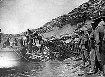Start of the Gallipoli campaign