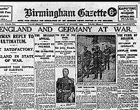 Start of World War One