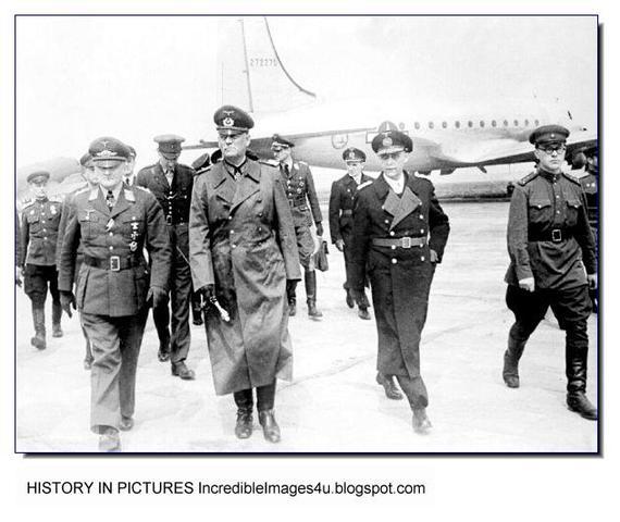 German Surrender Documents ending World War II