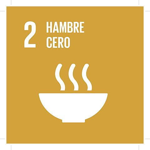 Objetivo 2: Poner fin al hambre, lograr la seguridad alimentaria y la mejora de la nutrición y promover la agricultura sostenible