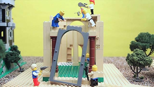 Joash repairs the temple