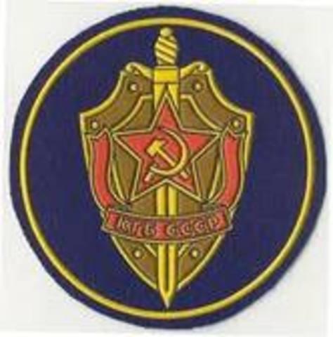 The KGB  Established