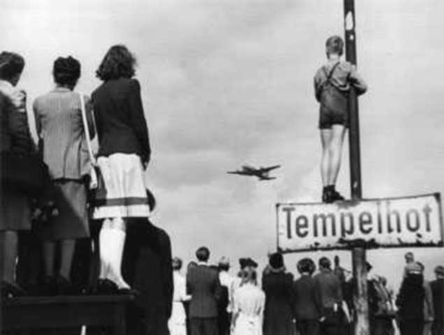 United States starts Berlin Airlift to help out European Nations