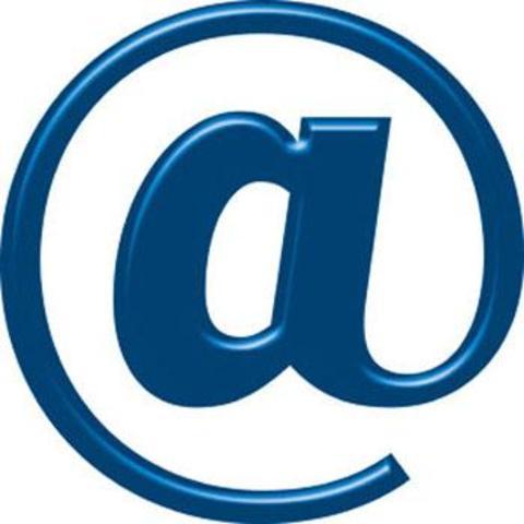 Primer correo electrónico