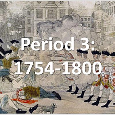 Period 3 APUSH timeline