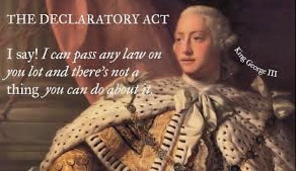 The Declaratory Act of 1766