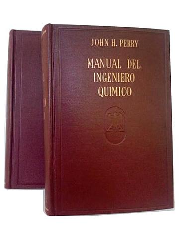 Primer manual del Ingeniero Químico
