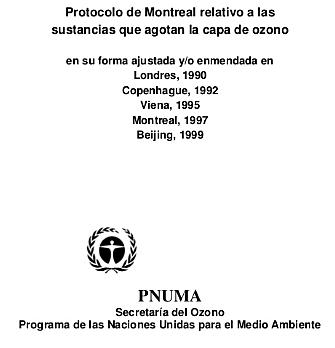 Ajustes al Protocolo de Montreal
