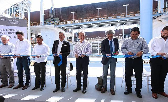 Inauguración de la Segunda Línea de Producción de Planta Apazapan, Veracruz.