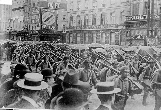 Els alemanys ocupen Brussel·les