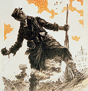 França declara la guerra a Àustria-Hongria