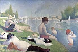 'Un baño en Asnieres' de Seurat