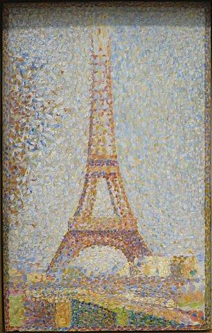 'La Torre Eiffel' de Seurat
