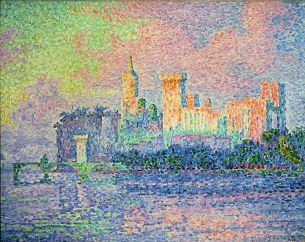 'Palacio papal de Avignon' de Signac