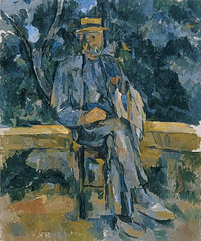 'Retrato de un campesino' de Cézanne