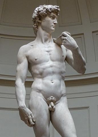 Creació del David - Michelangelo Buonarroti