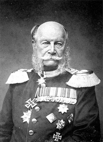 Guglielmo I diventa re di Prussia.