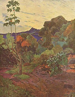 'Bahía de Saint Pierre, Martinica' de Gauguin