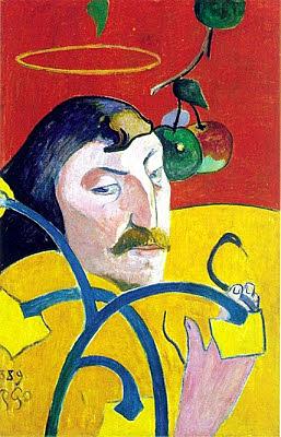 'Autorretrato con Nimbo' de Gauguin