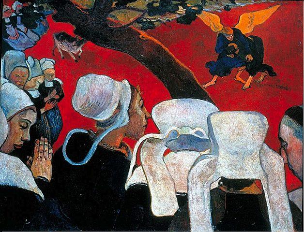 'Visión después del sermón' de Gauguin