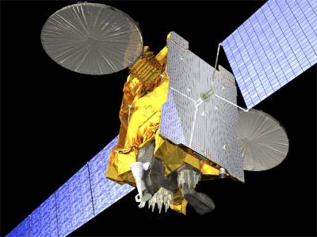 Geostationary communications satellite
