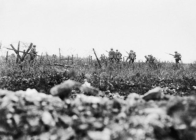 Primers moviments de la batalla del Somme
