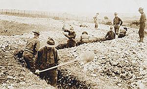 Primeres tropes nord-americanes a Europa