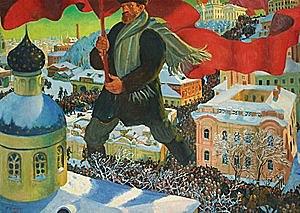 Els bolxevics prenen el poder a Rússia