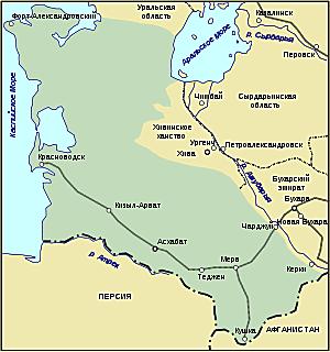 В 1888 году Семёнов совершил поездку по Закаспийской области и Туркестану