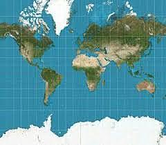 El sistema de representació cartogràfica de la Terra de Mercator