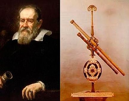 Construcció  del primer telescopi - Galileu