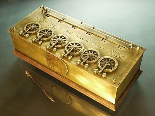 Construcció d'una calculadora mecànica - Blaise Pascal
