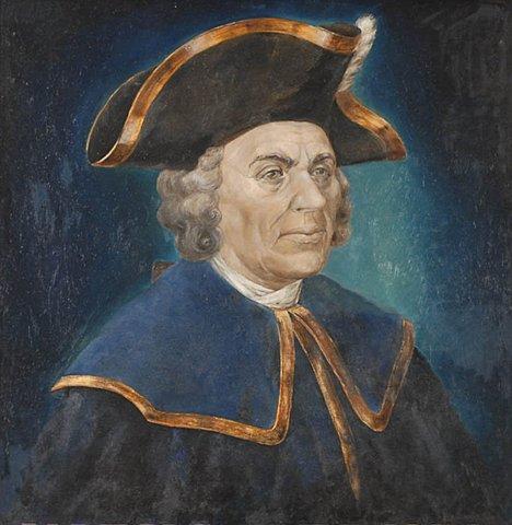 В 1681 родился В. И. Беринг