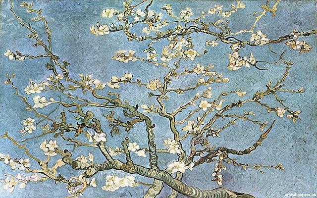 'Almendro en flor' de Van Gogh