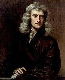 Llei de la gravitació universal - Isaac Newton
