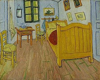 'La habitación de Van Gogh en Arlés' de Van Gogh