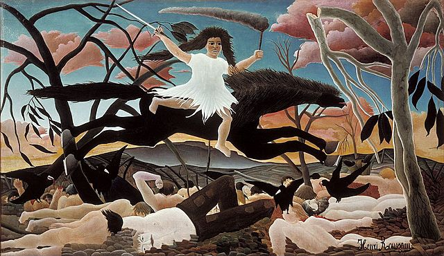'La guerra' de Rousseau