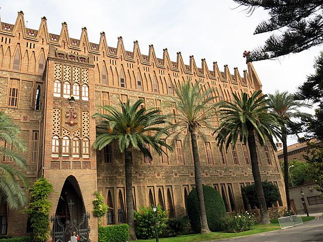 'Colegio de las Teresianas' de Gaudí