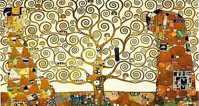 'El árbol de la vida' de Klimt