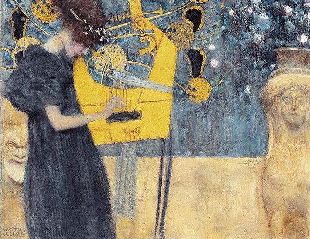 'Música' de Klimt