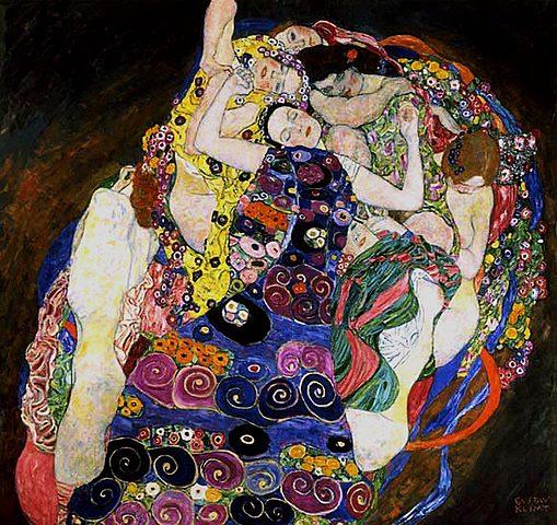 'La Virgen' de Klimt