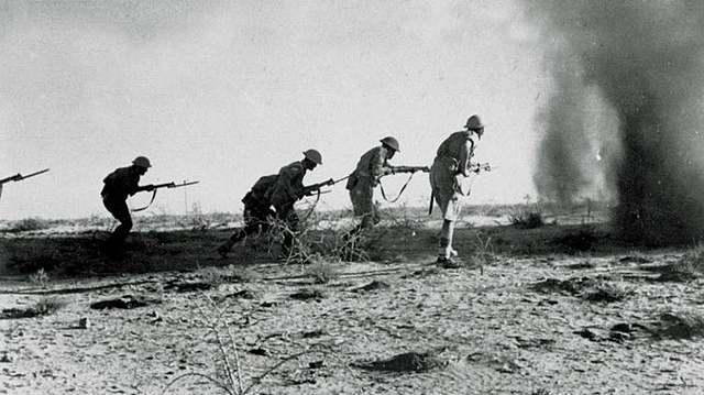 La batalla de El'-Alamein