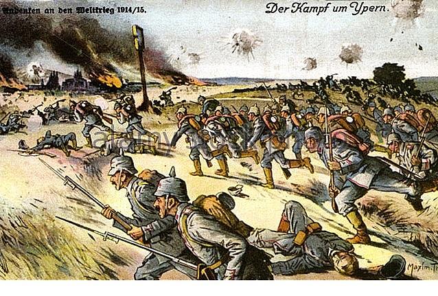 Primera batalla d'Ieper