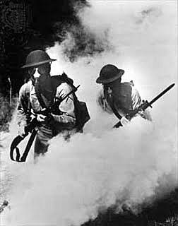 Els britànics utilitzen armament químic